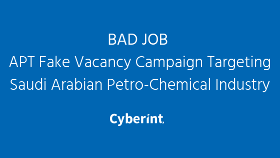BAD JOB APT Fake Vacancy Campaign _thumbnail